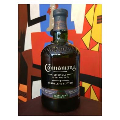 Bouteille de whisky Connemara Distiller's Peated