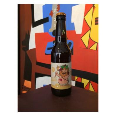 Bouteille de bière Barrée Wine - Brasserie Mad'Occ