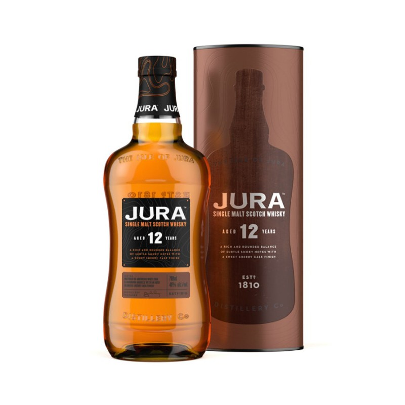 Bouteille de whisky Jura 12 ans