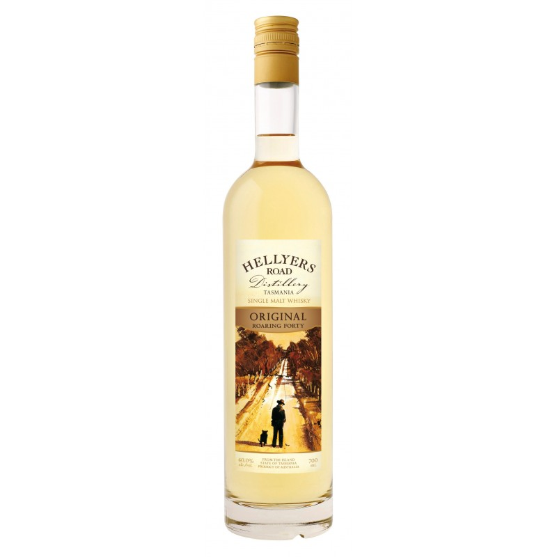 Bouteille de whisky Hellyers' Road Original - Tasmanie