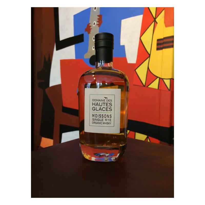 Bouteille de whisky Domaine des Hautes Glaces Moissons Rye