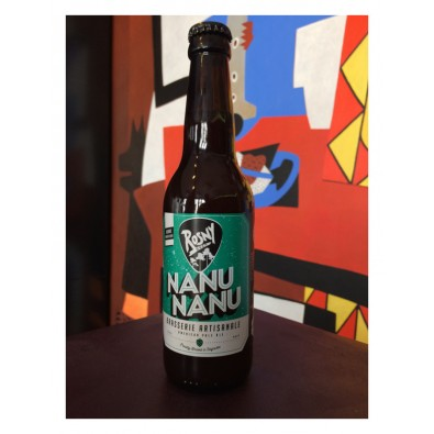 Bouteille de bière Rosny Nanu Nanu