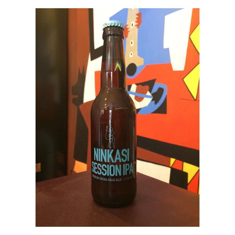 Bouteille de bière Ninkasi Session IPA