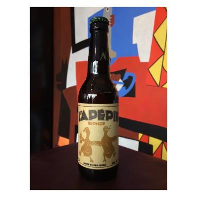 Bouteille de bière Lapépie Blonde