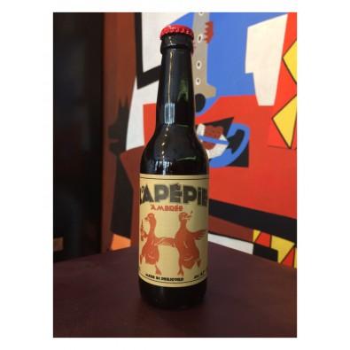 Bouteille de bière Lapépie Ambrée