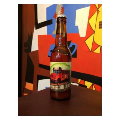 Bouteille de bière Pepinos con Chile - Brasserie du Grand Paris