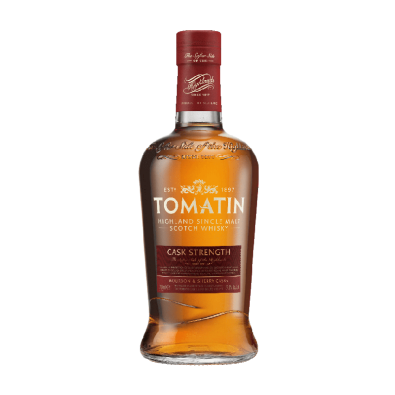 Bouteille de whisky Tomatin Cask Strength