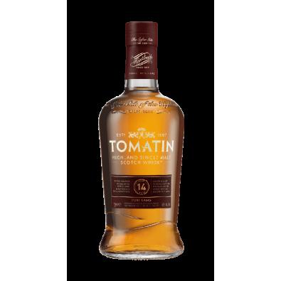 Bouteille de whisky Tomatin 14 ans