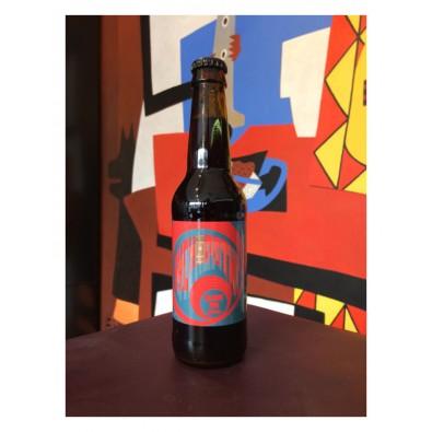 Bouteille de bière Seillonne Sychopathe Black IPA Whisky