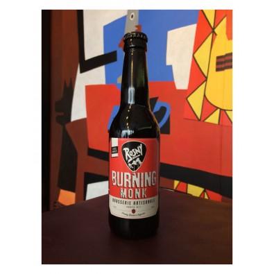 Bouteille de bière Rosny Burning Monk