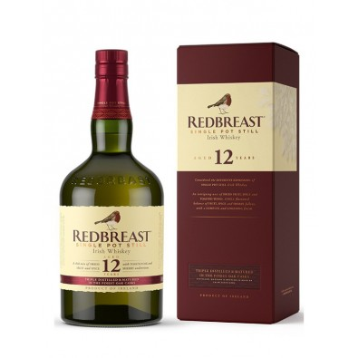 Bouteille de whisky Redbreast 12 ans