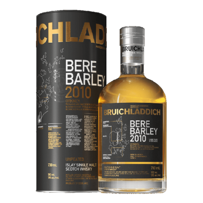 Bouteille de whisky Bruichladdich Bere Barley 2010
