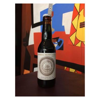 Bouteille de bière Brasserie du Grand Paris Imperial Brown Stout BA Heaven Hill